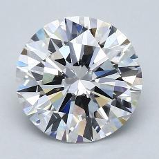 推薦鑽石 #3: 2.47  克拉圓形 Cut
