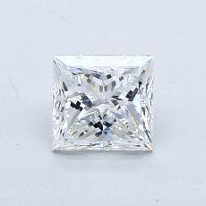 0,78-Carat Princess Diamond Very Good F VS2