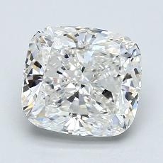 2.03-Carat Cushion Diamond Very Good G VVS2