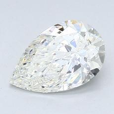 推荐宝石 2:1.20 克拉梨形切割钻石
