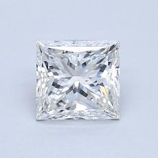 1.01 Carat 公主方形 Diamond 非常好 H VS2
