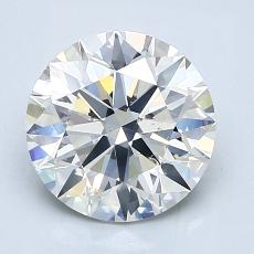 Recommended Stone #1: 2.08-Carat Round Cut Diamond