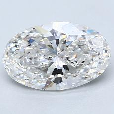 Recommended Stone #2: 2.13-Carat Oval Cut Diamond