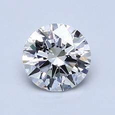 1.01-Carat Round Diamond Ideal H VS1