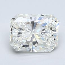 3.01-Carat Radiant Diamond Very Good H VS2