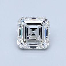 Recommended Stone #3: 0.91-Carat Asscher Cut Diamond