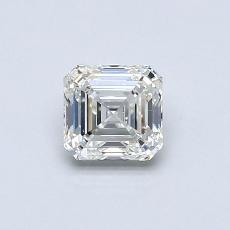 Recommended Stone #3: 0.60-Carat Asscher Cut Diamond