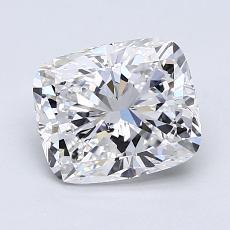 Pierre recommandée n°1: Diamant taille coussin 1,30 carats