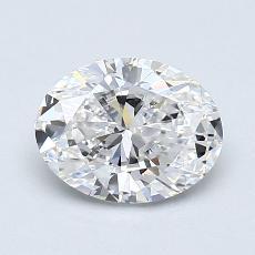 0.96-Carat Oval Diamond Very Good E VS1