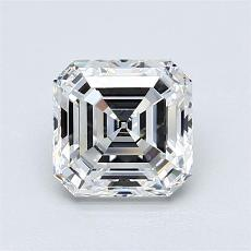 Recommended Stone #2: 1,37-Carat Asscher Cut Diamond