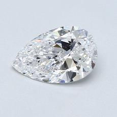 Recommended Stone #2: 0,96-Carat Pear Shaped