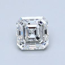 Recommended Stone #1: 0.90-Carat Asscher Cut Diamond