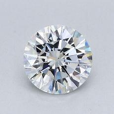 Piedra recomendada 4: Talla redonda de 1.04 quilates