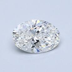 0.72-Carat Oval Diamond Very Good G VS1