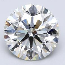推荐宝石 3:4.51克拉圆形切割钻石