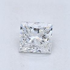 Recommended Stone #2: 0.80-Carat Princess Cut Diamond