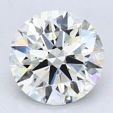 Recommended Stone #1: 3.34-Carat Round Cut Diamond