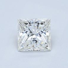 1,04 Carat Princesse Diamond Très bonne G VVS2