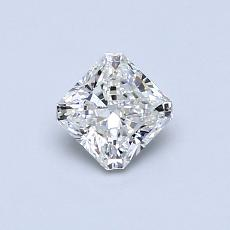0,53-Carat Radiant Diamond Very Good H VS1