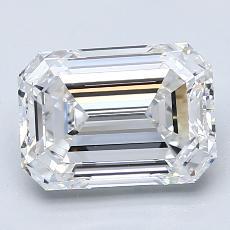 Pierre recommandée n°1: Diamant taille émeraude 2,50 carat