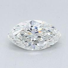 Piedra recomendada 4: con diamante Talla marquesa de 0.73 quilates