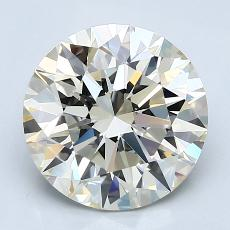 3.01-Carat Round Diamond Ideal K VVS1