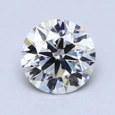 推荐宝石 2:1.27 克拉圆形切割