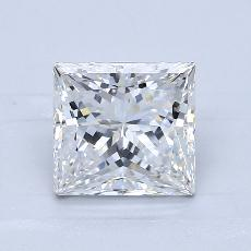2.01-Carat Princess Diamond Very Good E VS1