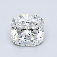 1.00-Carat Cushion Diamond Very Good H VS2