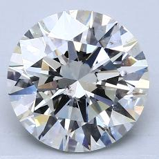 Recommended Stone #1: 2.71-Carat Round Cut