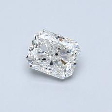 Recommended Stone #3: 0.51-Carat Radiant Cut Diamond
