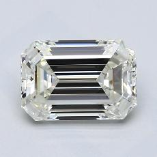 Recommended Stone #3: 2.03-Carat Emerald Cut Diamond