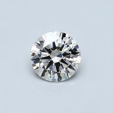 Pierre recommandée n°3: Diamant rond 0,40 carat