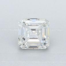 Recommended Stone #1: 0,80-Carat Asscher Cut Diamond