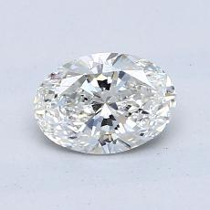 0.80-Carat Oval Diamond Very Good G VS2