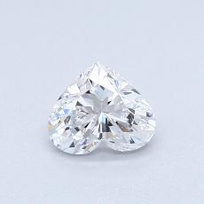 0,50 Carat Corazõn Diamond Muy buena D IF