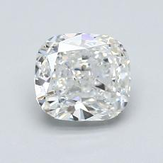 1.27-Carat Cushion Diamond Very Good H VVS2