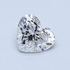 Recommended Stone #1: 0.83-Carat Heart Cut Diamond