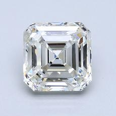 3.01-Carat Asscher Diamond Very Good J VVS1