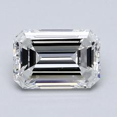 Recommended Stone #4: 1.50-Carat Emerald Cut Diamond