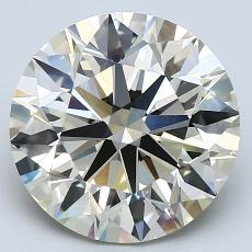 4.01-Carat Round Diamond Ideal K VVS2