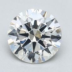 Pierre recommandée n°1: Diamant taille ronde 2,01 carat