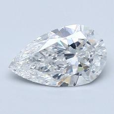1.01 Carat 梨形 Diamond 非常好 F SI1