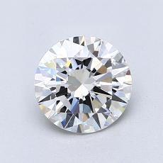 1.01 Carat Redondo Diamond Ideal F VS1