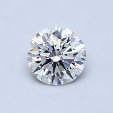 Piedra recomendada 2: Talla redonda de 0.70 quilates