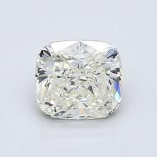 1.01-Carat Cushion Diamond Very Good K VVS2