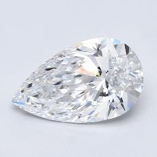 2.00-Carat Pear Diamond Very Good D VS2