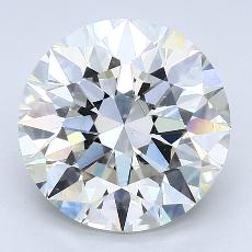 4.01-Carat Round Diamond Ideal I SI1