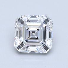 Recommended Stone #3: 1.61-Carat Asscher Cut Diamond