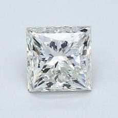 1.03 Carat 公主方形 Diamond 良好 I VS2